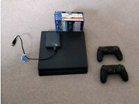 PS4 slim 500gb with extrasSOLD