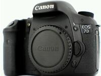 Wanted canon 5d or 7d