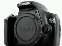 Canon EOS 1100d with UV filter, zoom lens, SD cards, camera bag