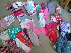 Huge bundle of girls age 2-3 clothes