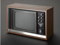 WANTED: Old vintage tv from the 1970s /1980s which is in colour.