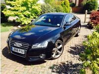 Audi A5 Coupe 2008 1.8L Black - New MOT and Service at Audi