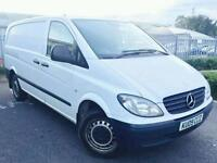 Mercedez Benz Vito Cdi Long wheel base immaculate Van diesel Year Mot £3200 Half price
