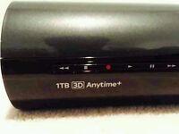Sky+ HD 3D 1TB Sattalite box + Can Deliver