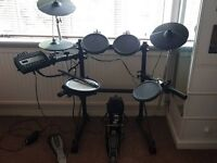 Roland TD3 electronic drum kit with Vic firth nova drumsticks