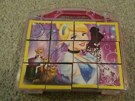 Disney princess cinderella jigsaw