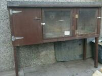 Rabbit / guinea pig hutch and run