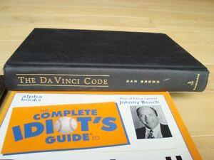 4 Books-Idiots Baseball, Kovels, 1st. Aid, Davinci Code Kitchener / Waterloo Kitchener Area image 2