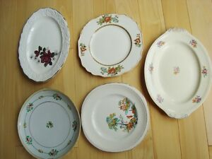 Assortment of 5 Decorative Fine China Plates -Some are quite old Kitchener / Waterloo Kitchener Area image 1