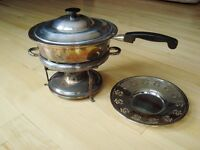 Vintage Copper Chafing/ Warming / Fondue Pot - Great Condition