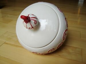 Real Home Earthenware Ornament  Cookie Jar- Perfect Condition Kitchener / Waterloo Kitchener Area image 3