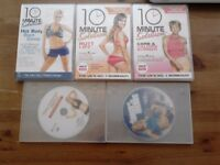 Fitness workout DVDs. £1 each. Or 5 DVDs for £3 . Hackney E5, East London