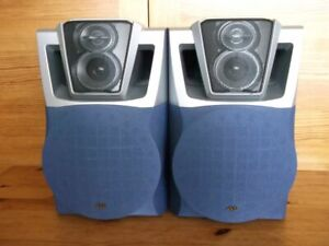 JVC High Quality Speakers System,2X Speakers With Wires