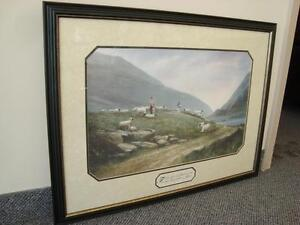 Framed Art -The Scarlet Thread by Donny Finley - Print Kitchener / Waterloo Kitchener Area image 1