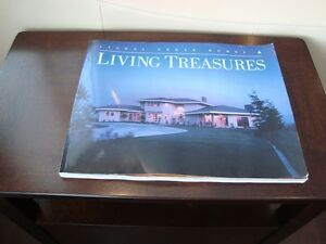 Coffee Table Book -Living Treasures Lindal Cedar Homes -231Pages Kitchener / Waterloo Kitchener Area image 1