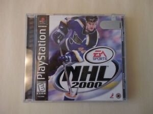 4 Different Play Station Games NHL $5