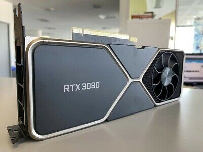 NVIDIA GeForce RTX 3080 Founders Edition Graphics Card 3D
