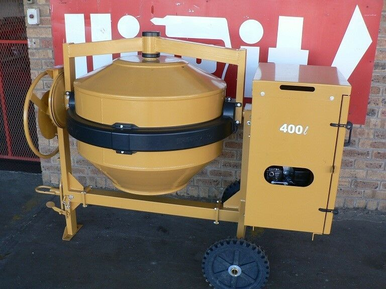 400L Petrol or Diesel Concrete Mixer with HONDA engine