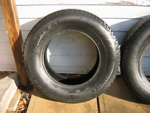 Set of 4 Hankook Dynapro AT M & S Truck Tires Used Kingston Kingston Area image 2