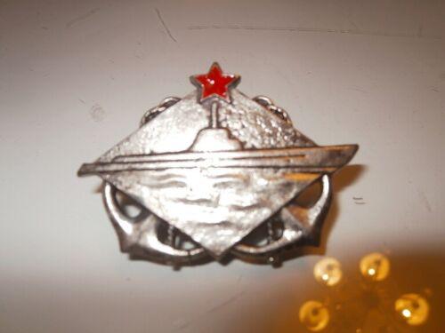 Yugoslav Navy (JNA) soldier submariner chest insignia - very good replica