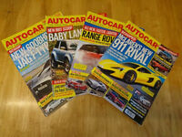 Autocar Magazines Collection 2013 - 52 Issues inc. Aston Martin, Ferrari, Etc.