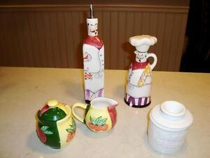 A Group Of 4 Kitchenware Ceramic Containers -All 4  $9.50 Total Kitchener / Waterloo Kitchener Area image 1