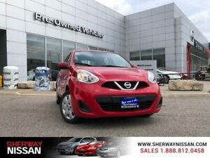 2015 Nissan Micra sv, one owner accident free trade, only 57879k