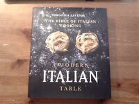 Italian Cooking book. New. Now £5 only, was £15