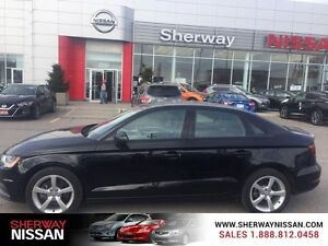 2015 Audi A3 4dr Sdn quattro 2.0T Komfort.Comes standard with ba