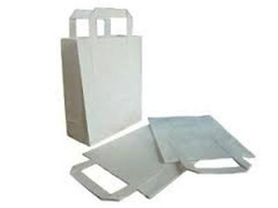 Paper Carriers Large White 10x12x5.5