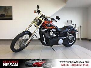 2012 Harley Davidson Wide Glide,103 ci, 1688cc,in black,only 126