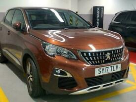 image for 2017 Peugeot 3008 SUV 1.6 BlueHDi Allure EAT (s/s) 5dr Auto SUV Diesel Automatic