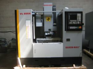NEW BARON MAX VL-800A LINEAR WAY VERTICAL MACHINING CENTRE
