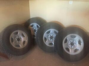FORD F150 WINTER WHEELS AND TIRES