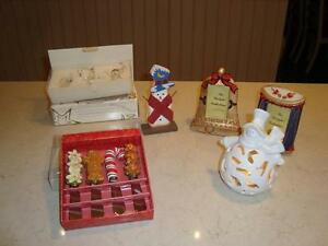 Christmas 11 Piece Assortment -Excellent Cond. All for $7.00