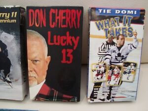 Lot of 8 VHS Tapes - Don Cherry x3,Tie Domi, Batman +More Kitchener / Waterloo Kitchener Area image 3