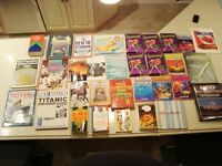 1 Lot of 22 Books Total-Book Of Airplanes,Titanic,UFO &more