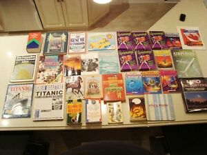 1 Lot of 22 Books Total-Book Of Airplanes,Titanic,UFO &more Kitchener / Waterloo Kitchener Area image 1