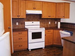 Pet Friendly HOUSE with double GARAGE in STIRLING, AB