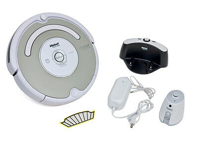 iRobot 530 Roomba Robotic Vacuum Virtual Wall Spot Clean Self Charging Home Base