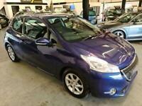 2013 Peugeot 208 1.4 HDI ACTIVE SPEC-BLUE-FSH-GREAT LITTLE CAR-0 TAX Hatchback D