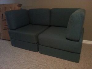 Frameless couch