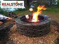 Granite Fire pits - great for Canada Day!