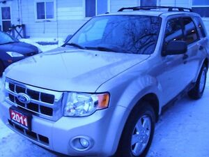 2011 Ford Escape XLT SUV, Crossover   117000  km