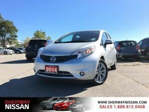 2014 Nissan Versa Note,accident free,navi,low kms,priced to sell