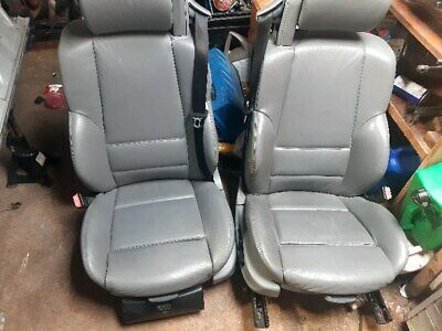 breaking  BMW E46 3 Series convertible Grey leather seats