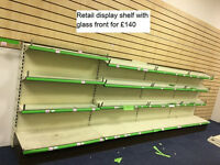 Retail shelving, Gondola Shelving, Display Shelving for shops, needs gone urgently, give best offer