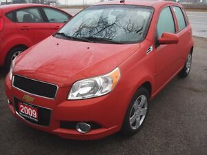 2009 Chevrolet Aveo LT Sun Roof 103,000 km  SOLD