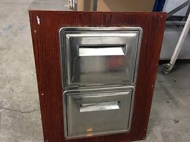 Wall Mounted Knock Out Drawer for Coffee Dregs