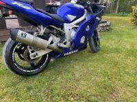 Yeamaha r6 2001y